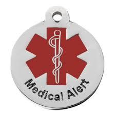 Medical Alert Tag